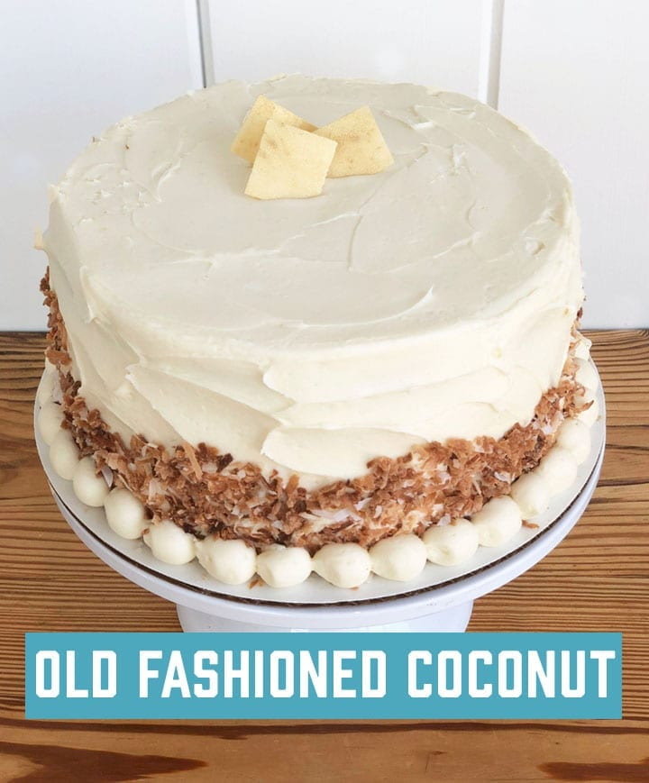 Cake Life - Old Fashioned Coconut